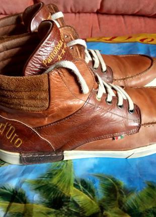 Кожаные ботинки pantofola d'oro 45 размер.