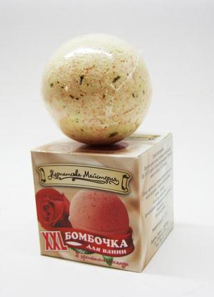 Бомбочки, шарики для ванны роза