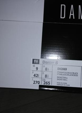 Кроссовки AdidasDame6