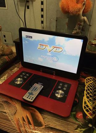 DVD проигрыватель, портативный телевизор