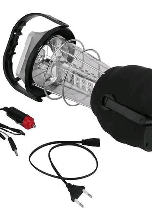 Кемпинговый динамо-фонарь + солнечная панель LS-360