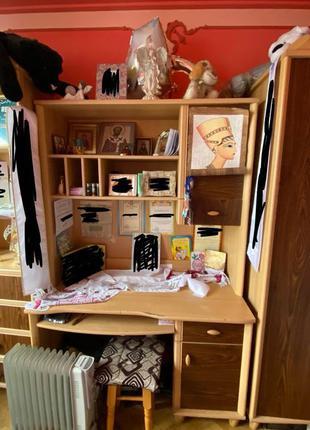 Мебель для комнаты шкаф книжная полка компютерный стол