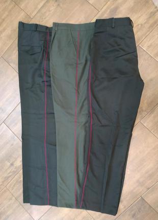 Штаны брюки офицерские парадные повседневные, р.52, рост 5