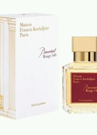 Парфюм унисекс Maison Francis Kurkdjian Baccarat Rouge 540