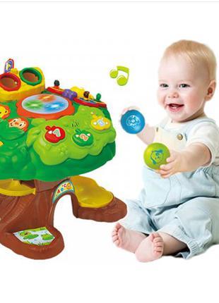Детский игровой музыкальный центр Bambi 91150 Дерево, звук