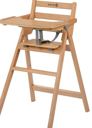 Детский стульчик для кормления Safety 1st Nordik Natural Wood