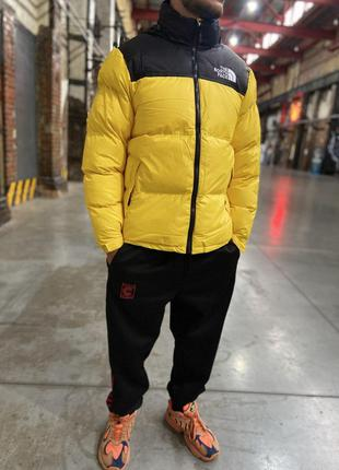 Пуховик The North Face 700 - Yellow
