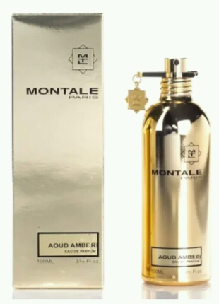 Парфюмированная вода Montale Aoud Amber 100ml унисекс