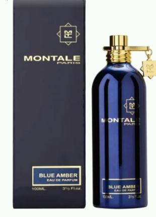 Парфюмированная вода Montale Blue Amber (Голубая Амбра), 100 мл