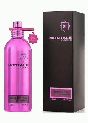 Парфюмированная вода Montale Aoud Roses Petals (Уд и Лепестки роз