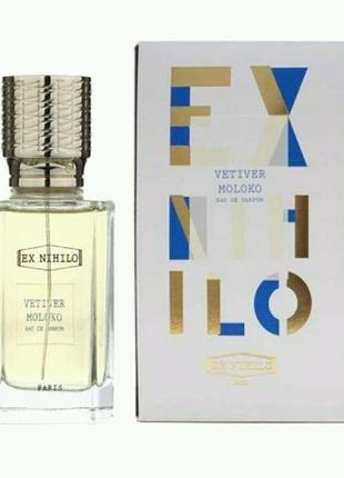 Унисекс парфюмированная вода Ex Nihilo Vetiver Moloko, 100 мл
