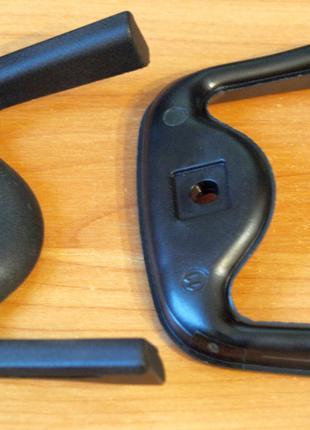 Бакелитовые накладки на ручки на посуду Zepter Цептер чёрные