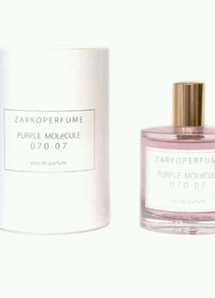 Парфюмированная вода Zarkoperfume Purple Molecule 070.07 унисекс,