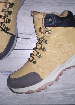 Зимние ботинки ❄️ кроссовки овчина мужские чоловічі зима