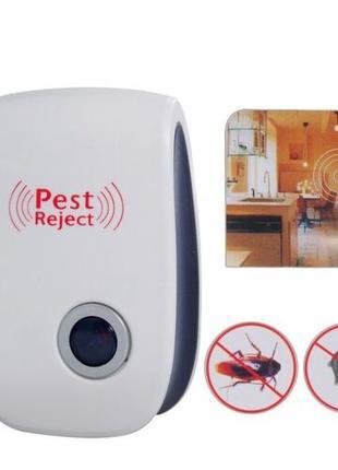 Ультразвуковой отпугиватель грызунов,насекомых в розетку (мышей,к