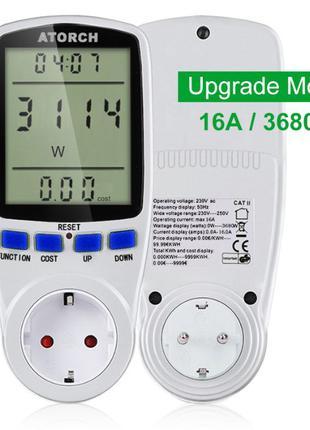 Ватметр ваттметр вимірювач потужності вольтметр амперметр энер...
