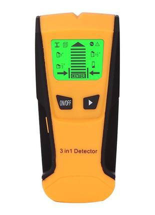 Детектор TH210 3 in 1 для скрытой проводки, металла, дерева