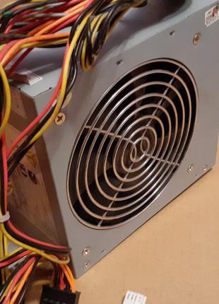 Блок питания POWER MASTER 350W кулер 120 мм 6 ПИН видеокарты!