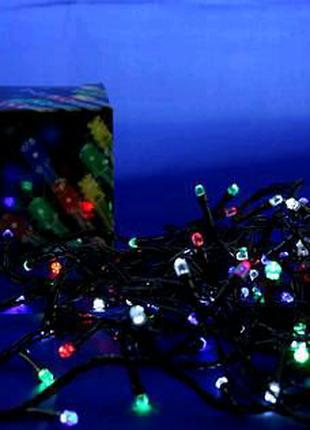 Гирлянда Xmas LED  200 Ламп Синяя