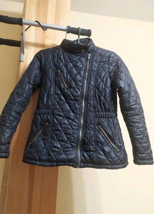 Куртка черная осень-весна