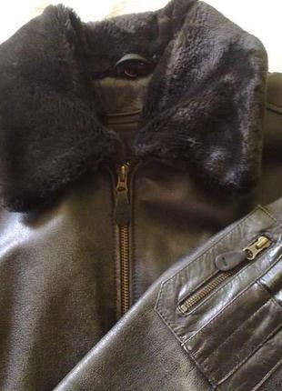 """Куртка кожаная """"пилот"""""""