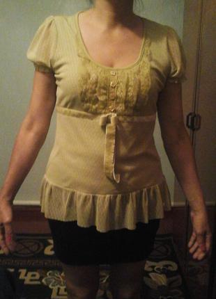 Блузка хлопок М размер.