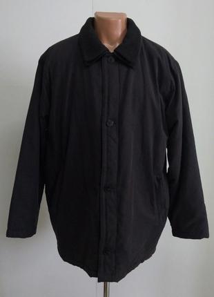 Темно - серая мужская куртка на осень размер 54