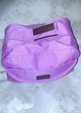 Сумка портфель рюкзак розовая в школу