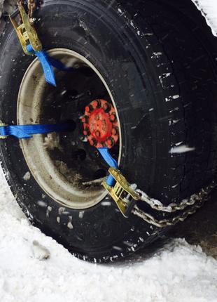браслеты цепи  противоскольжения для грузовых R17.5 R22.5