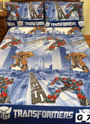 Комплект постельного белья трансформеры