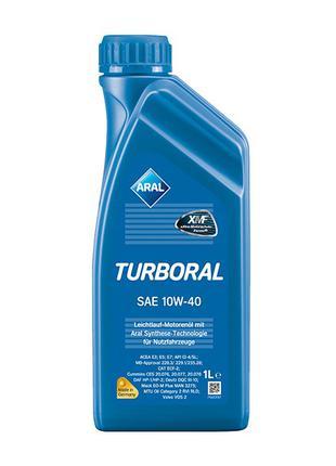 Моторное масло Aral 10w40 Turboral 1л