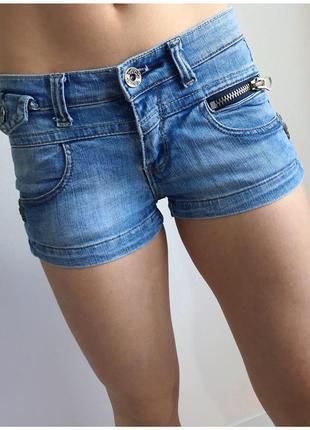 Шорты, шорти короткі, джинсовые шорты на лето, светлые шорты.