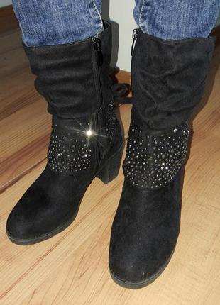 Сапожки сапоги ботинки демисезонные