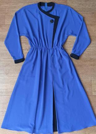 Платье с длинным  рукавом длиною миди