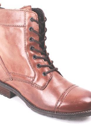 Ботинки s&g италия натуральная кожа  р.40-41