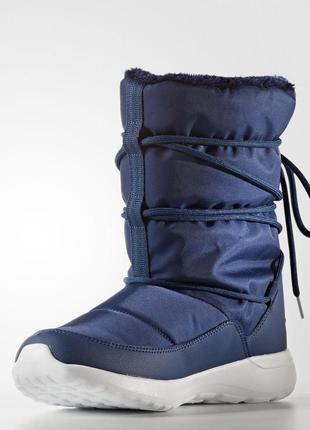 Женские сапоги adidas neo cloudfoam race winter(артикул:aq1642