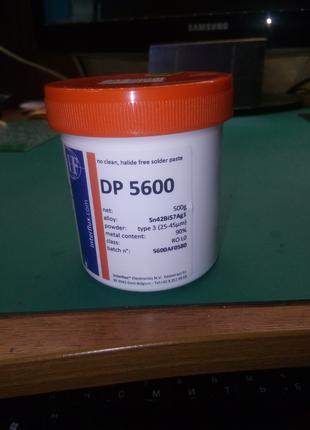 Бессвинцовая паяльная паста DP 5600 Sn42Bi57Ag1 0.5кг.
