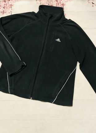 Кофта флисовая тёплая толстовка оригинал adidas