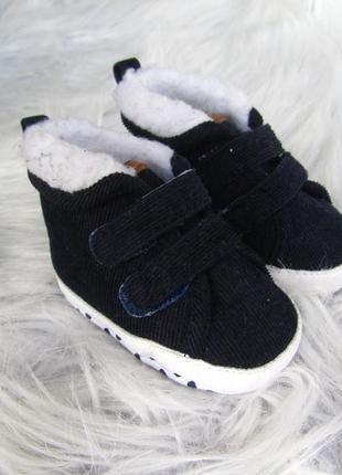 Пинетки утепленные  кроссовки кеды ботинки primark