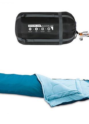 Спальний мішок BW 68066 застібка-блискавка, сумка, 230-80-60 см.
