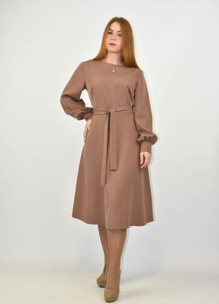 Платье женское с длинным рукавом от бренда adele leroy.