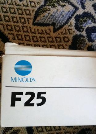 Пленочный фотоаппарат Minolta F25