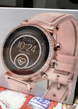 Смарт часы Michael Kors Access Sofie 4 Gen Stainl Steel Rose Gold