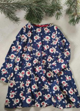 Детское новогоднее платье от f&f (36), на 6-7 лет