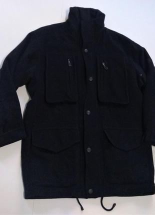 Кашемировое серое пальто размер xl