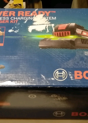Без проводная зарядка Bosch для 18 в аккумуляторов