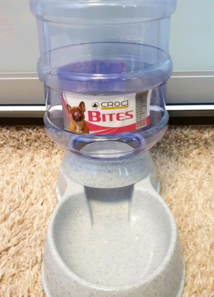 Набор диспенсер кормушка поилка кошек собак домашних животных