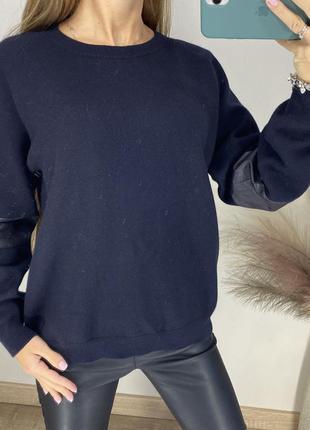Теплый свитер cos шерсть и хлопок