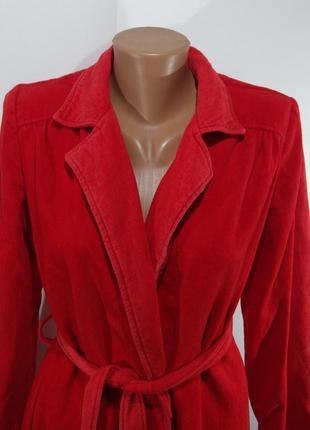 Оранжевый женский халат размер 38