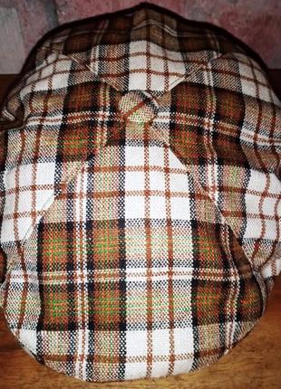 Летняя кепка-четырехклинка